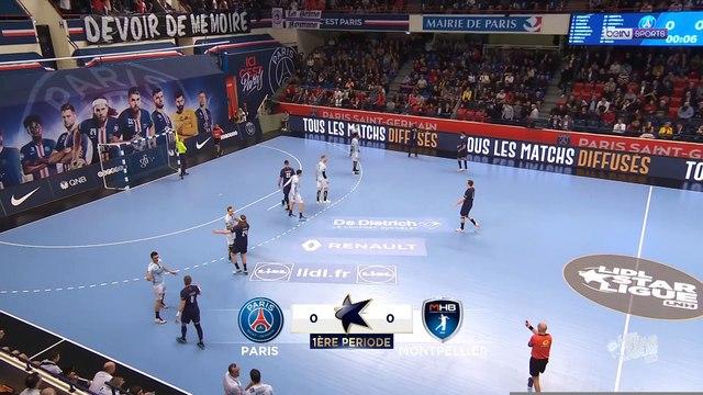 Lidl Starligue : Le PSG trop fort pour Montpellier