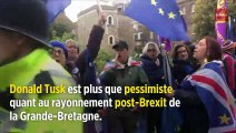Brexit : la Grande-Bretagne va devenir un « joueur de seconde zone », prévient Tusk