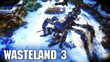 Wasteland 3 - 1987 Gameplay Trailer X019 (Official Tactical Roleplaying Game 2020)