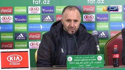 Algérie 5-0 Zambie: Conférence de Belmadi au complet