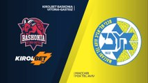 KIROLBET Baskonia Vitoria-Gasteiz - Maccabi FOX Tel Aviv Highlights |EuroLeague, RS Round 8