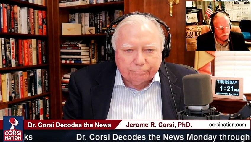 Dr Corsi DECODES 11-14-19 We expose Soros as the left's evil puppet master destabilizing Ukraine for Biden/Kerry profit,  Pt 2