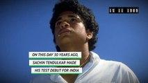 On This Day - Tendulkar makes Test debut
