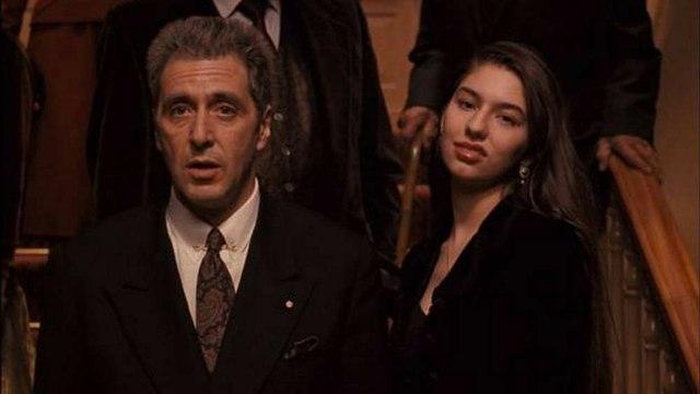 The Godfather 3 movie (1990)  Al Pacino, Diane Keaton, Talia Shire, Andy Garcia