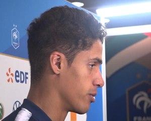 """Bleus - Varane : """"Je ne me suis pas posé de questions"""""""