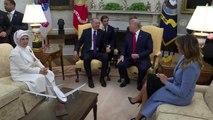 (TEKRAR) Erdoğan-Trump görüşmesi (1)