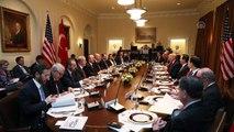 (TEKRAR) Erdoğan-Trump görüşmesi - Çalışma yemeği - WASHİNGTON
