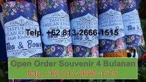 PROMO!!! +62 813-2666-1515, Souvenir Pengajian 4 Bulanan Terunik area Banda Aceh