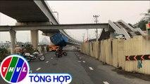 Xe container kéo sập cầu vượt tại TP.HCM: Cầu được xây dựng thấp hơn thiết kế