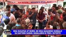 Mga sugatan at burol ng mga nasawing sundalo sa Eastern Samar, dadalawin ni Pres. #Duterte