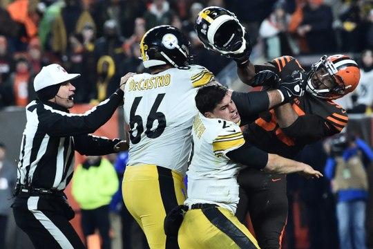NFL - Violente bagarre lors de Browns-Steelers