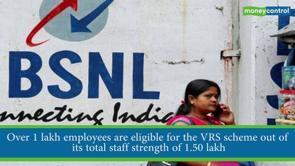 Nearly 75,000 BSNL employees have opted for VRS so far: Chairman