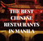 The Best Chinese Restaurants in Manila