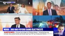 Neige : 300 000 foyers sans électricité - 15/11