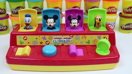 Disney Mickey Mouse Clubhouse Pop Up Pals with Surprise Toys-
