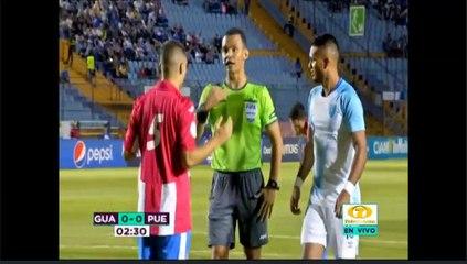 Primer gol de la Selección Nacional ante Puerto Rico