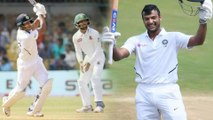 India vs Bangladesh,1st Test : Mayank Agarwal Hits 3rd Hundred In Indore || Oneindia Telugu