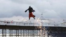 """Britain's Jet Suit-Clad """"Iron Man"""" Sets New Speed Record"""