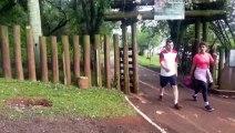 'Aparecimento de onça': Lago Municipal está aberto, mas equipes mantêm vistoria