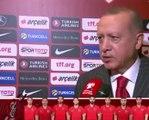 """Erdoğan'dan """"önümüzdeki maçlara bakacağız"""" dedirten video"""