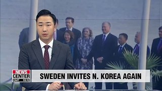 Sweden invites N. Korea to have more denuclearization talks with U.S