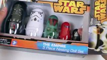 Star Wars Stacking Cups Nesting Dolls-