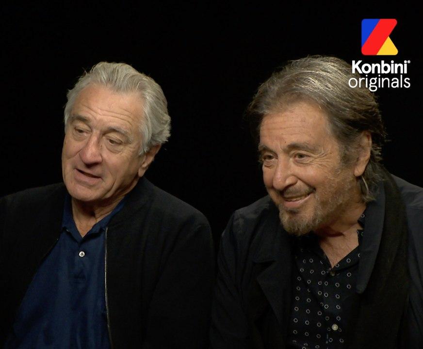 Robert De Niro Al Pacino L Interview Video Dailymotion