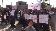 مظاهرات في الرقة ودير الزور تطالب بإسقاط نظام أسد