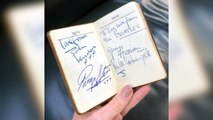 Woman Finds Old Diary Autographed By The Beatles