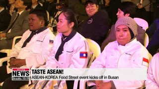 Taste ASEAN  Food street held in Busan ahead of ASEAN-ROK Summit