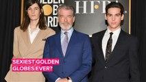 Pierce Brosnan's model sons are 2020 Golden Globes Ambassadors