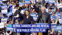 Bernie Sanders And AOC Come Together With New Plan