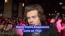 Harry Styles' Tour Announcement