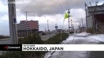 Japánban beköszöntött a tél