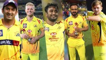 Chennai Super Kings relased five players