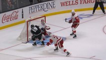 Kings mount late rally for OT win against Red Wings