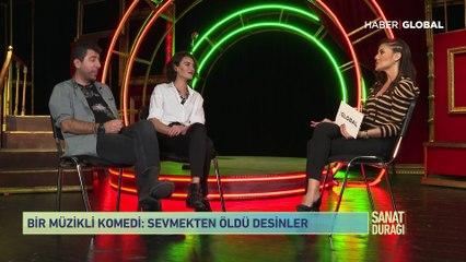 Hande Subaşı ve Hakan Bilgin yeni tiyatro oyunlarıyla Sanat Durağı'nda