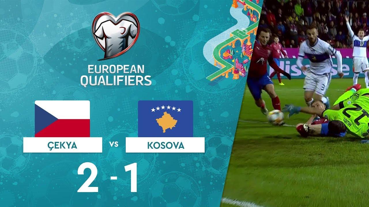 Çekya 2-1 Kosova | EURO 2020 Elemeleri Maç Özeti - A Grubu