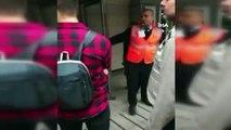 Karaköy'de başörtülü kıza saldıran kadının yeni görüntüleri ortaya