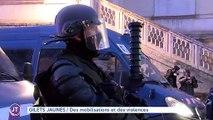 GILETS JAUNES Des mobilisations et des violences