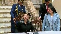 """Presidenta de Bolivia dice que si Evo Morales vuelve tendrá que """"responder a la justicia"""""""