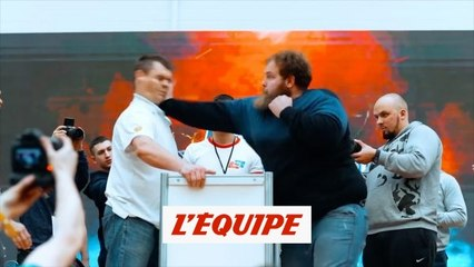 Vasily Kamotsky, le tsar de la baffe - Tous sport - WTF