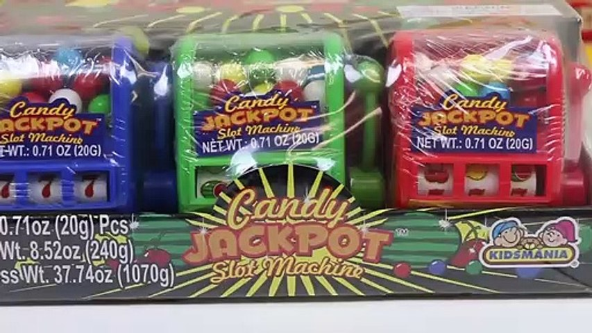 Candy slot machine favors