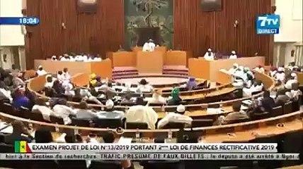Prise de parole de Ousmane SONKO lors du vote de la 2ème loi de finance