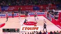 Les 20 points de Livio Jean-Charles face à Belgrade - Basket - Euroligue - 8e j.