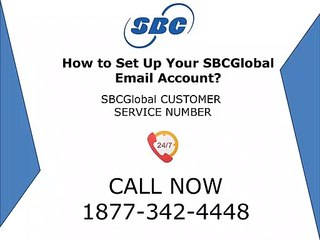 How to Set up Your SBCGlobal Email Account? | 1877-342-4448