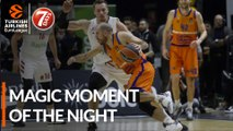 7DAYS Magic Moment of the Night: Quino Colom, Valencia Basket