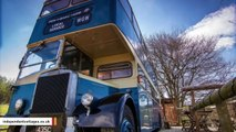 You Can Now Stay In A Double Decker Bus-Turned-Hotel