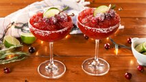 This Frozen Cranberry Marg Is The Perfect Fall Treat