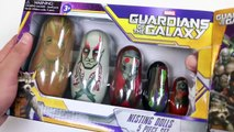 Guardians of the Galaxy Stacking Cups Nesting Dolls-